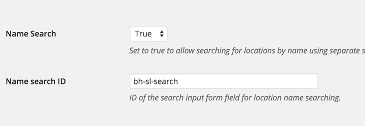 Add a field to search locations by name
