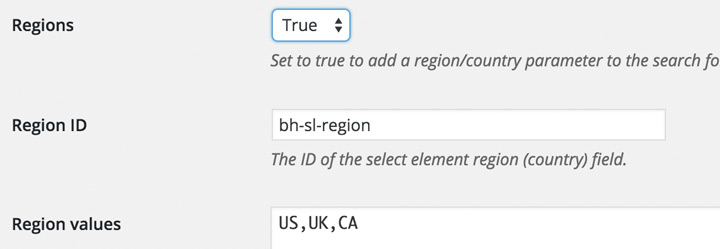 Add country select drop-down field